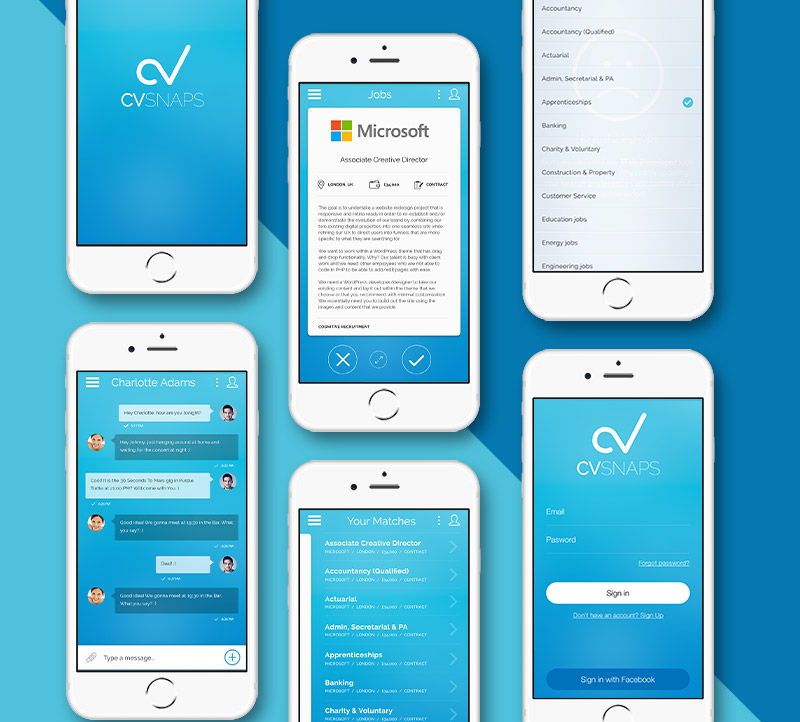 CV Shuffle Mobile App