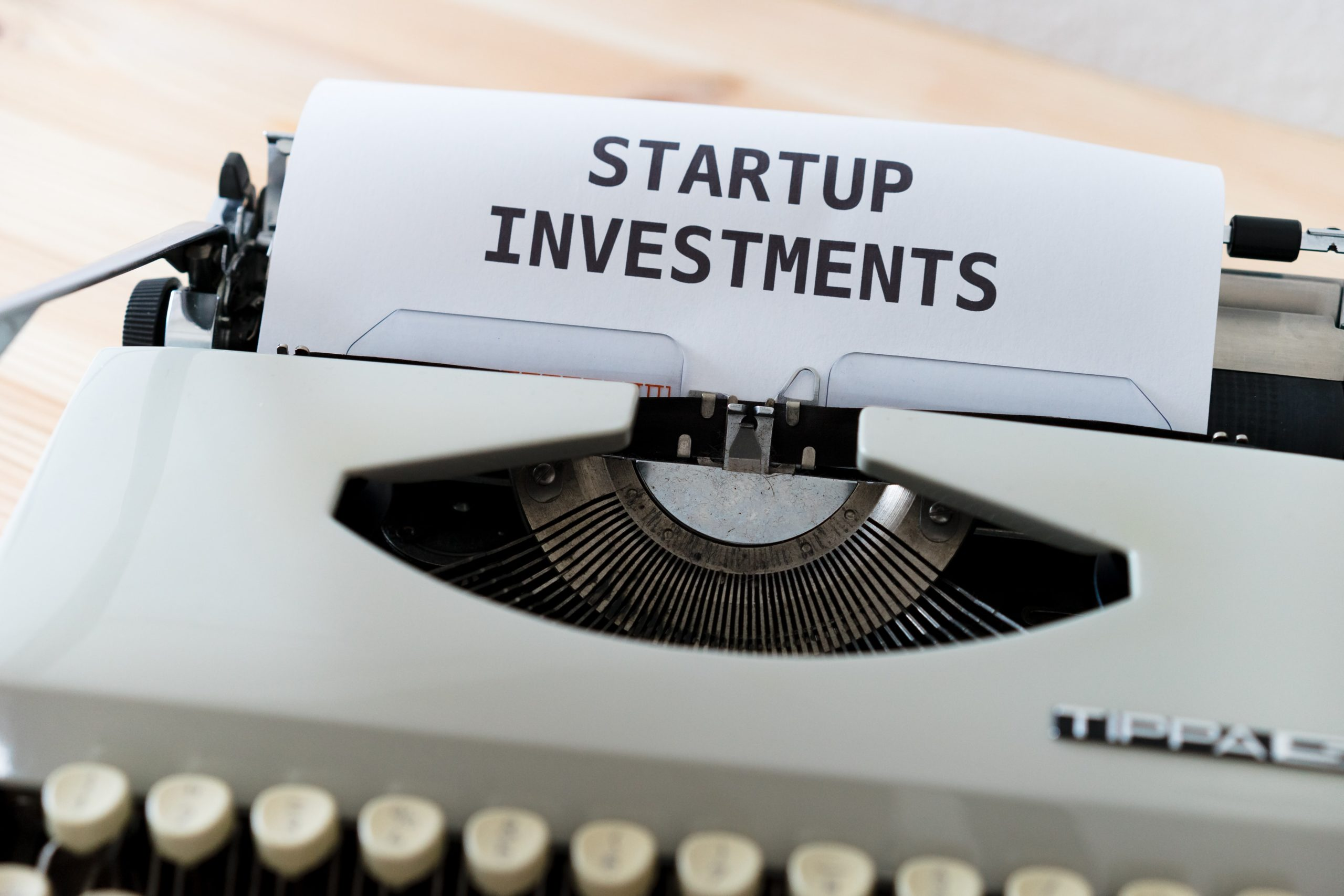 startup funding title