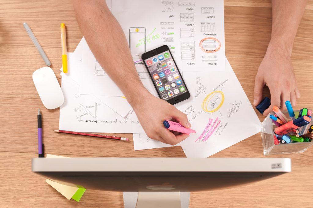 User Experience Workshop Designer Working
