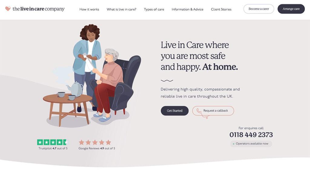 web-design-for-live-in-care