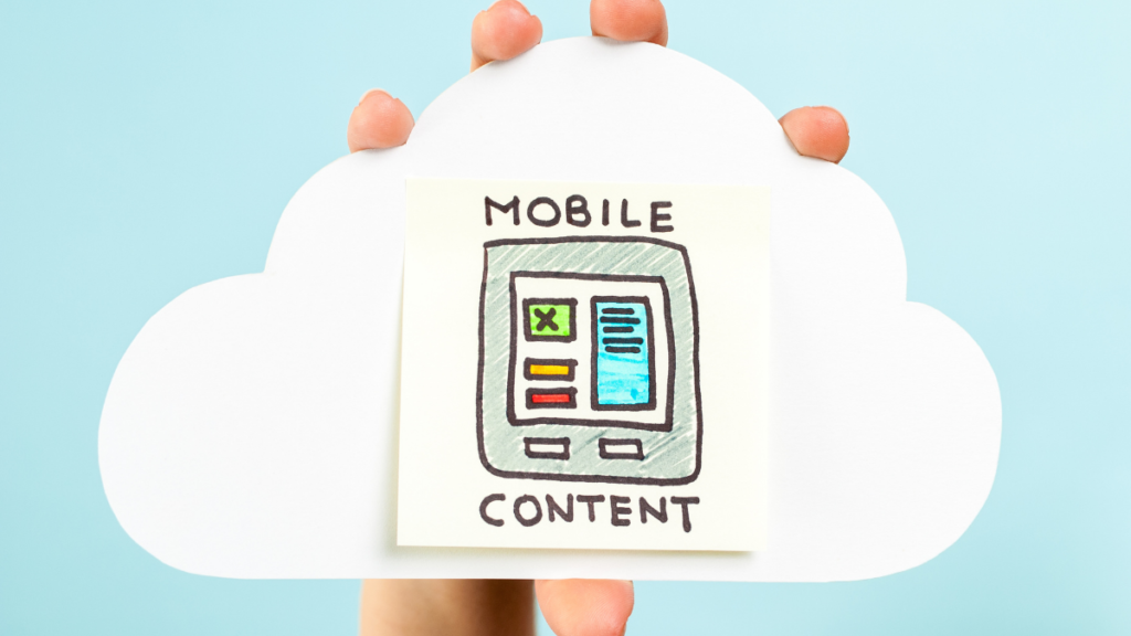 mobile content and headless cms